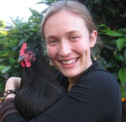 Marlene is a chicken in disguise